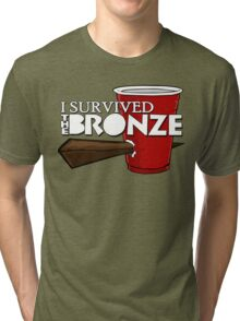 I Survived the Bronze Tri-blend T-Shirt