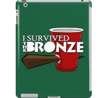 I Survived the Bronze iPad Case/Skin