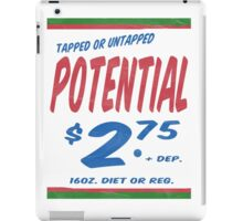 Untapped Potential Supermarket Series iPad Case/Skin