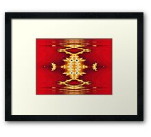 Golden Frogger Framed Print