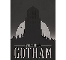Batman - Welcome To Gotham City Photographic Print