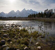 Tetons, Wyoming by Kim Barton