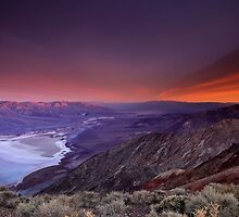Looking Towards Furnace Creek, Death Valley by David Orias