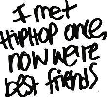 HIPHOP best friend by hophop