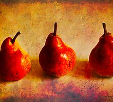 Three Pears by pennyswork
