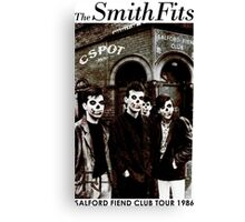CSPOT - The SmithFits - Salford Fiend Club Tour Canvas Print