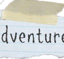 Adventures Sticker