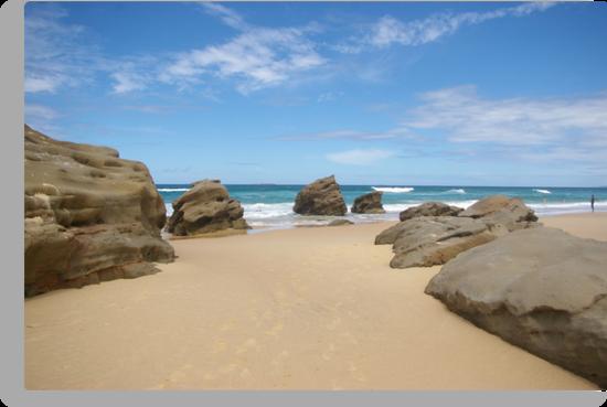 Redhead Beach Newcastle NSW Australia by Bernie Stronner