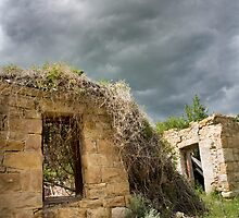 Stone Ruins near Smith Mine, Montana by Kim Barton