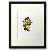 BEARS and FIGHTERS - Rolento Framed Print