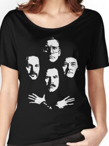 I see a little silhouetto of an Anchorman Women's Relaxed Fit T-Shirt