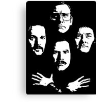 I see a little silhouetto of an Anchorman Canvas Print