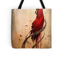 Girl in Red Tote Bag