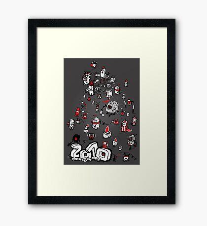 Twenty When?! Framed Print