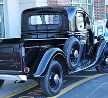 '35 Ford Pickup Truck 1 by Roger Jewell