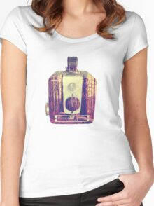 woodsy brownie Women's Fitted Scoop T-Shirt