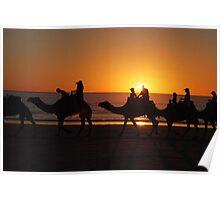 Kimberley sunset Poster