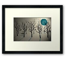 Among the Wolves... Framed Print
