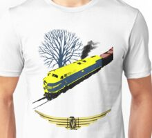 Victorian Railways S Class thunders by Unisex T-Shirt