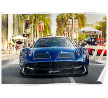 Pagani Huayra on Rodeo Drive Poster