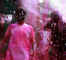 Celebrating Holi by Vivek Bakshi