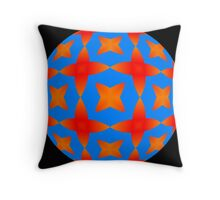 Kal in Complimentary Colors ... 01 Throw Pillow