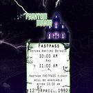 Phantom Manor- Fastpass by Margybear