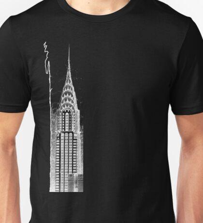 Chrysler Building Sketch Unisex T-Shirt