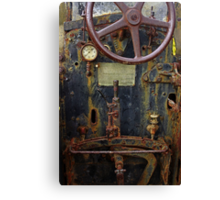Old Baffalo In Rust Canvas Print