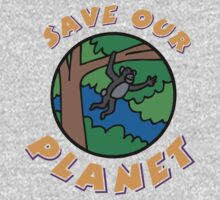 save planet earth One Piece - Long Sleeve