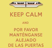 Monorail- Keep Calm (Orange) Kids Clothes