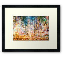 Average Time Square Framed Print
