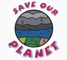 Save our Planet! Baby Tee