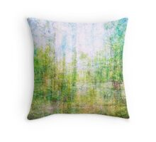 Average Forest  Throw Pillow