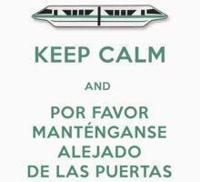 Monorail- Keep Calm (Teal) Kids Clothes