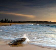 Last Summer Splash - South Curl Curl, NSW by Malcolm Katon