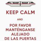 Monorail- Keep Calm (Red) by Margybear