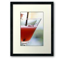 Raspeberry Fool Framed Print
