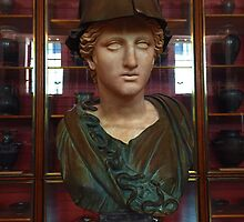 Copper Bust in Rome by BritishYank