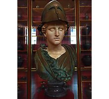 Copper Bust in Rome Photographic Print