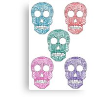 Skullies Canvas Print
