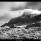 &#x27;Cloud over Tryfan&#x27; by Mark Smith