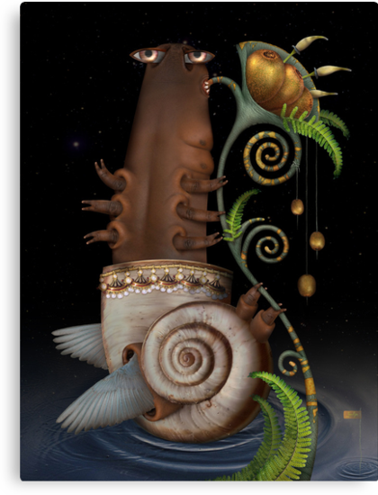 Snail by Yuliya Art