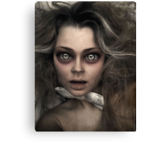 Damned Doll Canvas Print