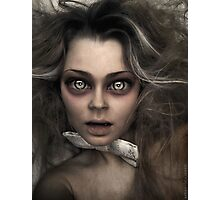 Damned Doll Photographic Print