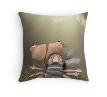 Easy Walk Throw Pillow