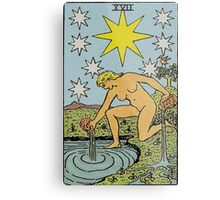 The Star Tarot Metal Print