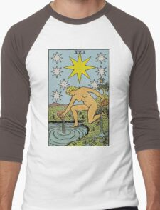 The Star Tarot Men's Baseball ¾ T-Shirt