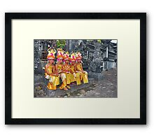 Learned young...... Framed Print