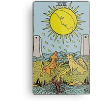 The Moon Tarot Metal Print